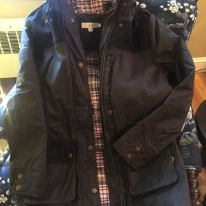 Boden waterproof quilted jacket